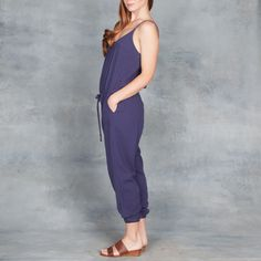 Xirena James Jumpsuit in Indigo Sea – Tamarind