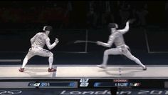 Olympic fencing dispute even more homoerotic than sport of fencing.