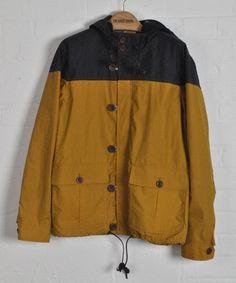 Edison Jacket Navy/Mustard