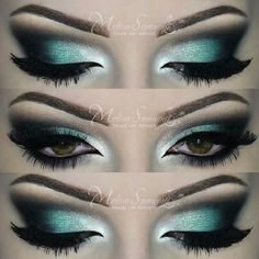 Makeup Tutorial 9 - How To Do Your Holiday Makeup - Makeup Perfection Eye Makeup Tips, Glam Makeup, Beauty Makeup, Hair Makeup, Makeup Ideas, Makeup Lipstick, Hair Beauty, Gorgeous Makeup, Love Makeup