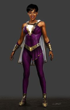 It was a real challenge bringing this character to life and we had an incredible team! Captain Marvel Shazam, Shazam Comic, Marvel Dc, Superhero Characters, Dc Comics Characters, Heroes Reborn, Dc World, Meagan Good, Vampire Costumes