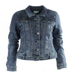 Geisha jacket 65518 in blue denim kleur. € 89.99