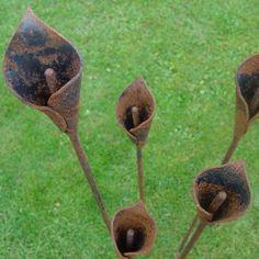 Metal Flower Art - Bing Images