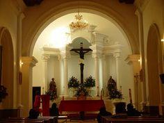 Cristo negro en la iglesia de Aconchi Sonira Mexicp