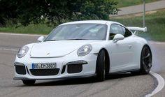 Just let it slide! Porsche GT3