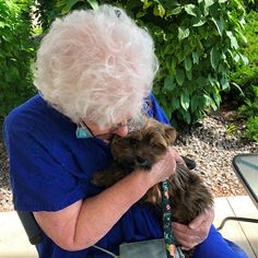 One of the residents at Dr. James Hemstock & Hearthstone Place in Lloydminster was treated to a special puppy visit! 😄 🐕#vervecares #community #goodtimes #petfriendly #puppy Wellness Activities, Assisted Living, Senior Living, Beautiful Smile, Calgary, Good Times, Retirement, Abs, Community