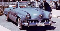 Indy 500 Pace Cars 1952 Studebaker