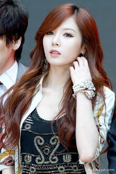 Kim Hyuna ~ I'm so jealous of her hair