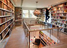 24 ejemplos de bibliotecas que se pueden encontrar en una casa, combina las dos…