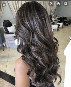 Silver Blonde Hair, Lilac Hair, Brunette Hair, Dark To Blonde, Dark Violet Hair, Blonde Honey, Long Brunette, Brunette Color, Blonde Color