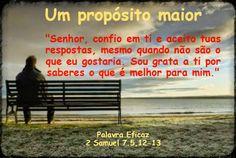 Promessas para hoje: Quando Deus diz não- 2 Samuel 7.5,12-13