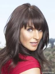 anna richardson - Google Search Thick Bangs, Long Bangs, Anna Richardson, Brown Hair Colors, Hair Colours, Female Images, Great Hair, Sexy Women, Hair Beauty