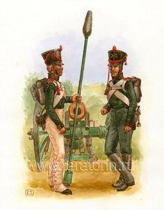 Russian Artillerymen 1812