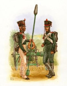 Foot Artillerymen 1812