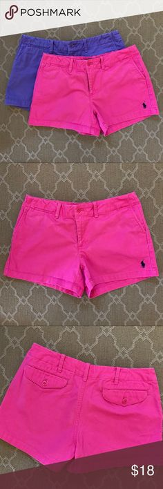Considerate Lilly Pulitzer Women's Hot Pink Shorts Size 4 Guc Highly Polished Mixed Intimate Items