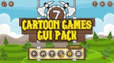 Check out Cartoon Games GUI Pack 7 by pzUH on Creative Market