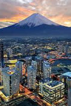 Travel: Mount Fuji,Yokohama, Japan