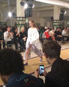 @afterhomeworkparis @parisfashionweek @bureaupressing #show #defile #fashionweek #paris #newcollection #trends #springsummer2018 #ss18 #fashion #tendances #designers #pfw #modemonline #CollezioniDonna #magazine #presse @karolina_trawinska  via COLLEZIONI MAGAZINE OFFICIAL INSTAGRAM - Celebrity  Fashion  Haute Couture  Advertising  Culture  Beauty  Editorial Photography  Magazine Covers  Supermodels  Runway Models