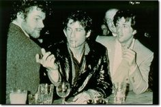 Studio 54. Travolta and Stallone.
