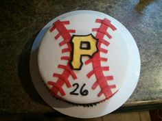 Pittsburgh pirates baseball cake