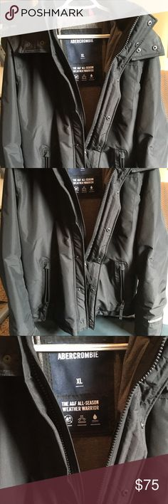 Ambercrombie &Fitch All Weather Parka NWOT A&F all weather parka for Men size XL Ambercrombie & Fitch Jackets & Coats Performance Jackets