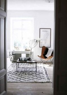Invest in a great area rug.