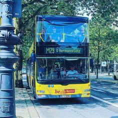 """🚌 Love this yellow double decker busses.! 😍 ✈️🎒🍀🔥☀️ . . #berlin #berlinerverkehrsbetriebe #berlinerbusse #3290 #bvg #bus #hermannplatz #m29 #yellow #man #doppeldecker #doppeldeckerbus #travelwriter #travel #instatravel #travelgram #instago #passportready #travelblogger #ilovetravel #writetotravel #instatravelling #instavacation #travelblogger #instapassport #postcardsfromtheworld #traveldeeper . . #jojomansury @jojo.mansury"" by @jojo.mansury. #fashionbloggers #bbloggers #fbloggers…"
