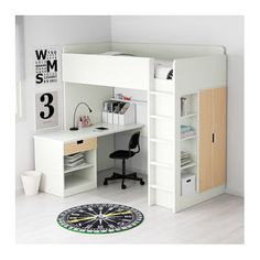 IKEA STUVA loft bed combo w 1 drawer/2 doors