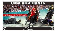 ABOLISH THE USE OF ANIMALS IN   PALIO