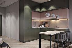 Проект квартиры-студии около 30 кв.м. - Дизайн интерьеров   Идеи вашего дома   Lodgers