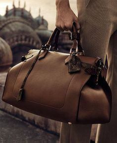 Leather Travel Bag for Men Also Watch 6 Very Essential Travel Bags for the Man on the Move — Mens Fashion Blog - The Unstitchd