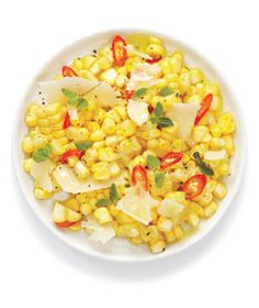 Corn Salad With Parmesan and Chilies | RealSimple.com