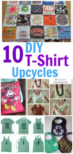 10 T-shirt Ideas to Repurpose Your Old Shirts Into Something Useful