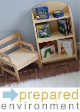Rincón de lectura  Montessori ici space