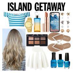 """Island Getaway🌎🌴"" by johanneviinholt ❤ liked on Polyvore featuring Accessorize, Miss Selfridge, Lauren B. Beauty, OPI, ORLY, Casetify, Estée Lauder, Calvin Klein, M&Co and Michael Kors"