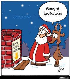Funny Christmas Cartoons, Christmas Humor, Christmas Time, Happy Paintings, Merry Xmas, Funny Cute, Fun Facts, Haha, Illustration