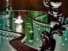 Concept Art for Cinderella - Mary Blair
