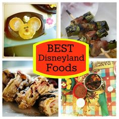 The Best Food to Get at Disneyland. Can't wait for a Monte Cristo sandwich and mouse-shaped desserts!