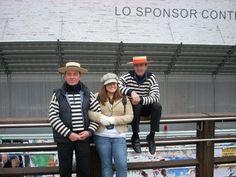 Gondola men. Adorable. #Venice #Italy