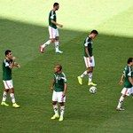 Mexico players look dejected