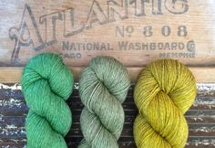 """Kettle Yarn Co. yarn on Instagram: """"SHOP UPDATE: new this week is bright leafy Jade in lighter fingering weight Beyul, baby Yak / silk/ ethical Merino. This punchy green is…"""""""