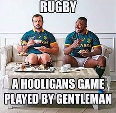 Rugby, a hooligans game played by gentleman All Blacks Rugby Team, Rugby Sport, Rugby Men, Rugby Rules, Rugby Funny, Rugby Girls, Hot Rugby Players, Welsh Rugby, Australian Football
