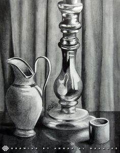 still life drawings | still life - Pencil drawing