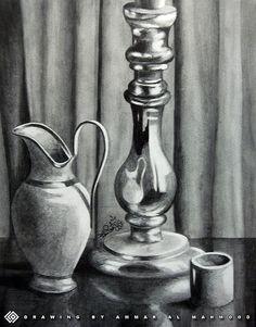 still life drawings | still life - Pencil drawing