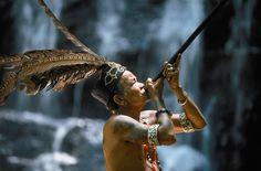 De Iban stam heeft een schitterende cultuur en een prachtige woon omgeving.