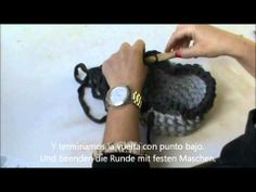 Crealoo StarterKit Ganchillo - XL Haekeln · Cesta de Trapillo Asas    Korb · Griffe Youtube, Wings, Trapillo, Youtubers, Youtube Movies