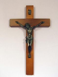 8-inch and Larger Wall Crucifix