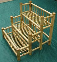 Brilliant Bamboo Planter Stand And For Flower Plant Nursery From China Three Stair Shelf Box Pot Uk Plan Idea Privacy Screen Diy Bamboo Planter, Bamboo Art, Bamboo Crafts, Planters, Bamboo Furniture, Diy Furniture, Furniture Websites, Furniture Movers, Stair Shelves