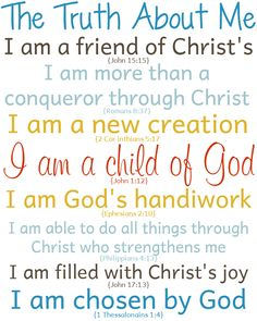 An affirmation is defined as the truth of something, so daily affirmations are the daily defined truths about ourselves; our self esteem(Step Quotes Affirmations) Christian Affirmations, Affirmations For Kids, Positive Affirmations, Career Affirmations, The Words, Christian Life, Christian Quotes, Christian Women, Identity In Christ