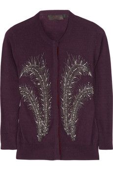 L'Wren Scott Embellished Cashmere Sweater-LOve!!